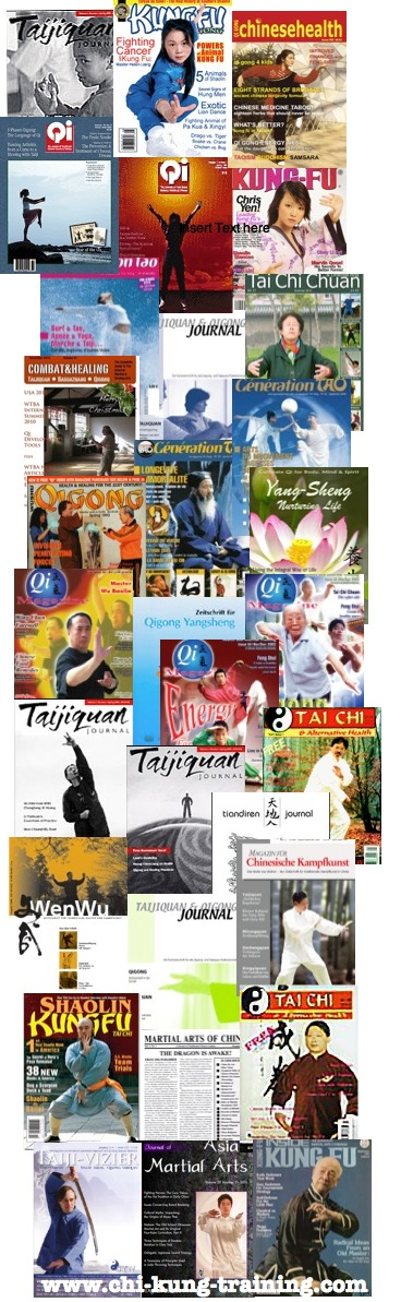 Chi kung - qigong magazines, journals, newsletters